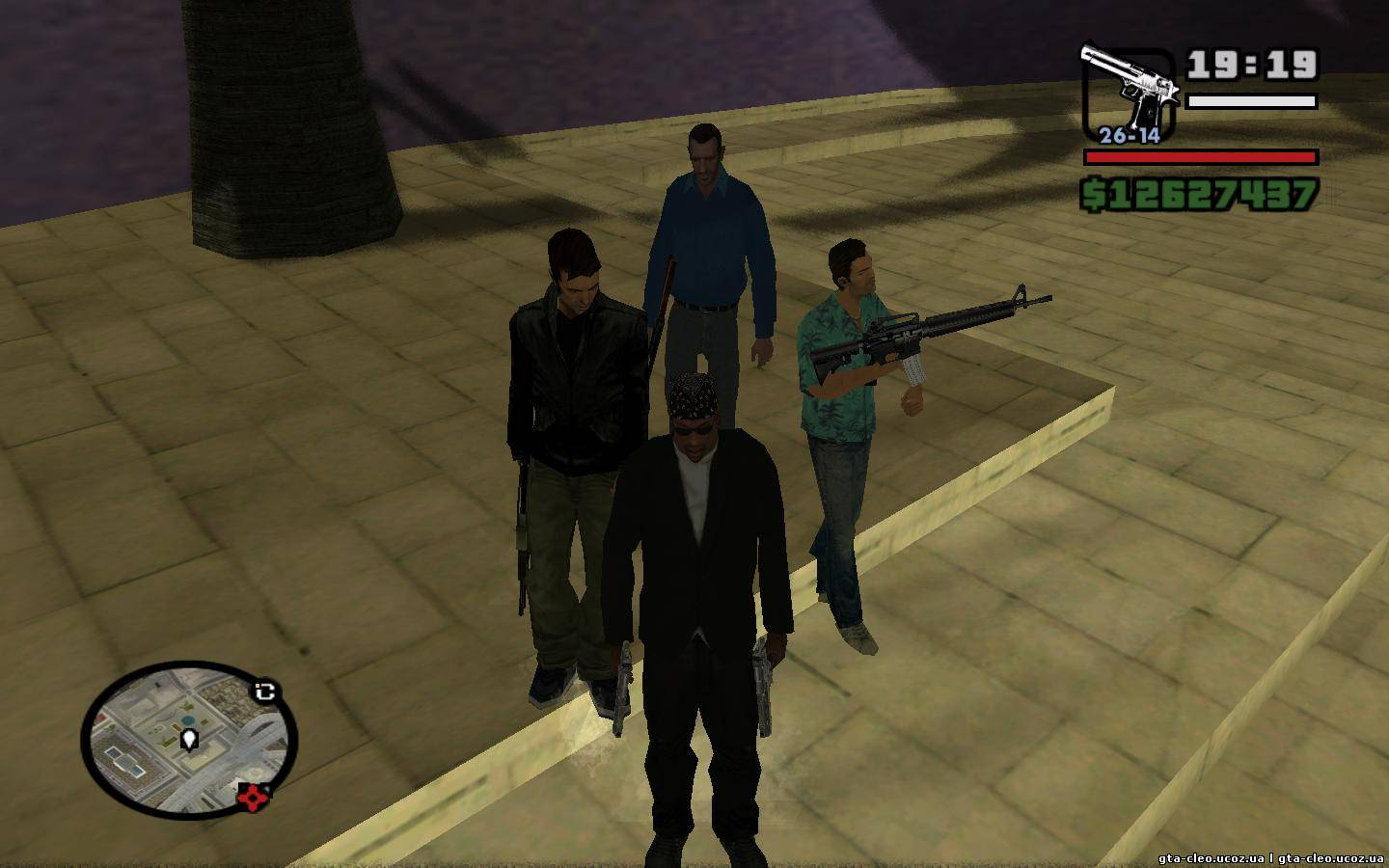 Gta San Andreas Cleo скрипты